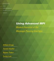 Using Advanced MPI cover