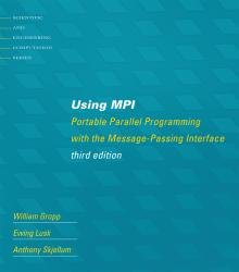 Using MPI 3rd edition cover